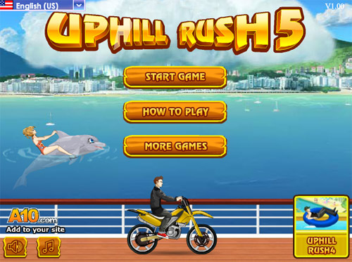 Uphill Hill Rush 3 Hacked